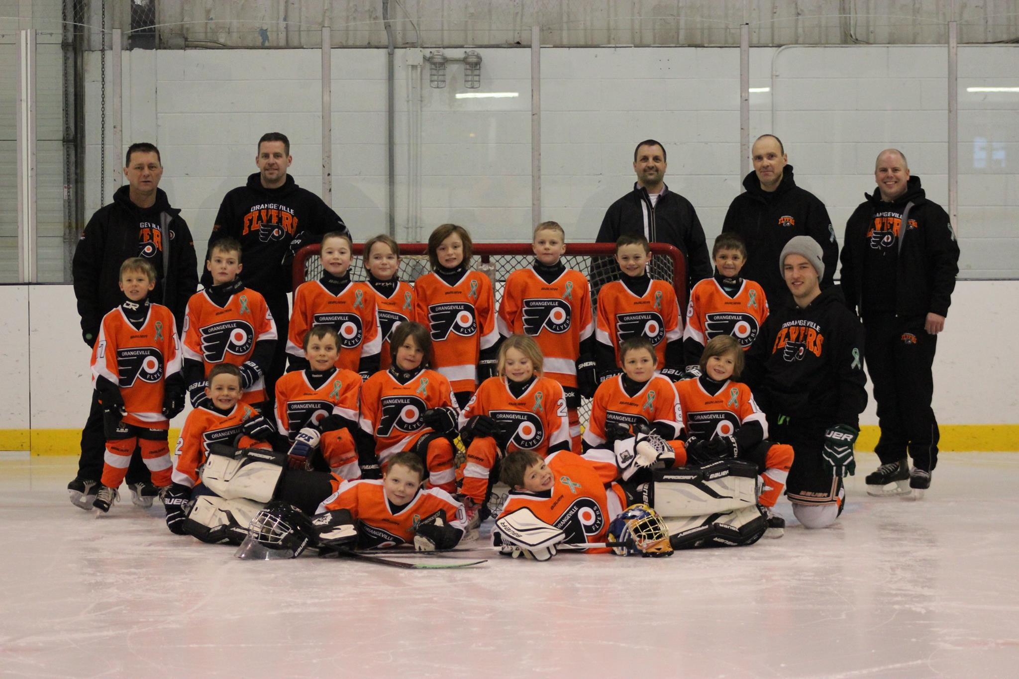 Orangeville Tyke Select Team RS 2007 Sponsor